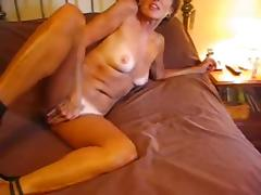 Dirty Talking Granny Sucks for Facial