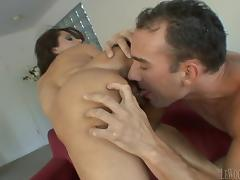 Marvelous MILF with nice ass is licked warmly and cunt crashed Hardcore