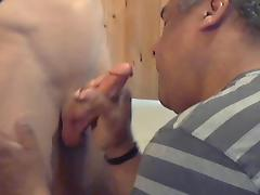 Me sucking this nice hot cock