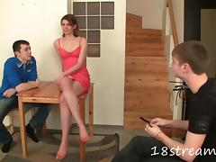 Sweet And Naughty Lady Gets Banged In BDSM Fetish Spanking