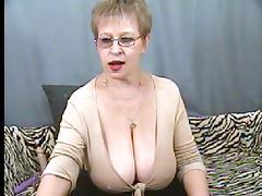 Again big tits granny