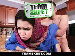 All teen giils loves being creampied, and Rebecca is not an