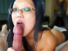 blowjob and glasses
