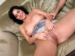 Mature tries a creampie