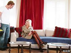 Spicy Cougar In High Heels Enjoying Her Anal Being Smashed