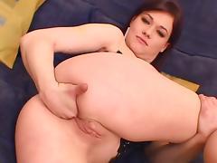 Double anal tag team - Gia