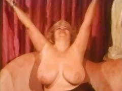Solo #70 Busty Blonde BBW Mature (Vintage)