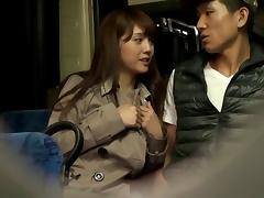 Bus, Adorable, Allure, Asian, Bus, Couple