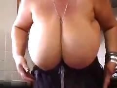 Fat Mature With Huge Milky Boobs R20