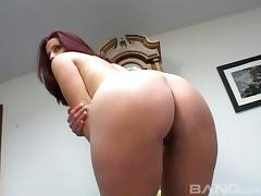 Lots of big asses to ogle in a solo compilation video