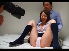 Japanese schoolgirls creampie interview (part 2)