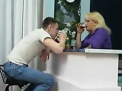 Mature Blonde Russian Whore With Big Breasts