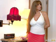 Milf Darla Crane is his personal curvy slut in big cock porn