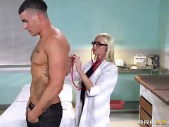 Doctor, Couple, Doctor, Glasses, Hardcore, Pussy