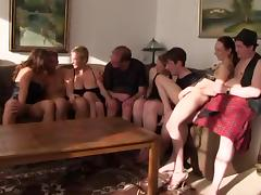 Old and Young, 18 19 Teens, Amateur, German, Group, Orgy