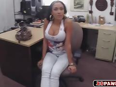 Sweet sexy babe loves getting fucked