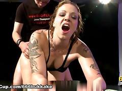 666Bukkake Video: Piss Sisters Part 2