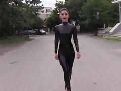 Babe, Amateur, Babe, Latex, Outdoor