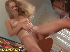 Young, Blonde, Fetish, Peeing, Pissing, Teen