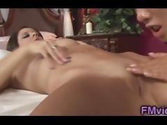 Tessa Taylor hot lesbian massage