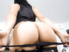 two asses and one cock!!
