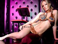 Elizabeth Bally in The Iconic Metal Bikini Scene