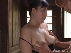 Japanese Granny, Asian, Japanese, Mature, Old, Penis