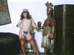 Veronica Hart, Lisa De Leeuw, John Alderman in vintage fuck clip