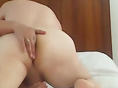 Fucking  my gf and her finger my wazoo