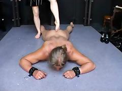 Ballbusting, BDSM, Blonde, Femdom, German, Mistress