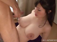Japanese, Asian, Big Tits, Boobs, Couple, Cum
