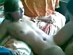 A immature yum-yum is humped by my cock