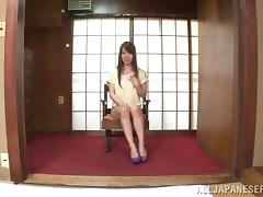 He finds her big natural Japanese tits flawless and fucks her hard