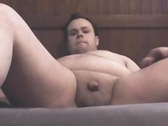 TinyCockChub using a hitachi