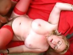 A big tit granny