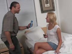Hypnotized Blonde In Miniskirt Getting Logged Hardcore Doggystyle
