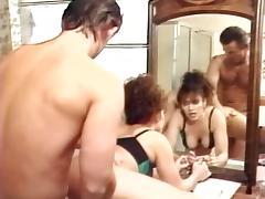 Charli, Erica Boyer, Keisha in vintage fuck scene