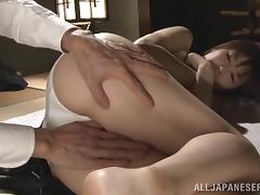 Hardcore Asian sex with lustful cougar Nanako Mori