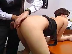 Short Hair, Blowjob, Facial, Fingering, German, Short Hair