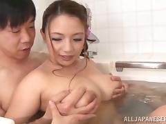 Bath, Asian, Bath, Bathing, Bathroom, Big Tits