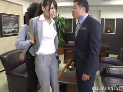 Office, Asian, Desk, Fucking, Hardcore, Japanese