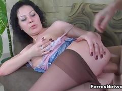 PantyhoseTales Clip: Sibylla and Vitas