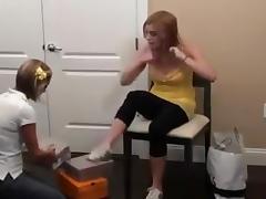 Lesbian Foot Fetish 6