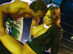 Nika Noire With Fake Tits Screwed Doggystyle On Cumshot