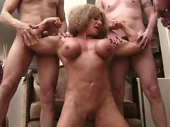 Whore, Bitch, Masturbation, Muscle, Whore, Bodybuilder