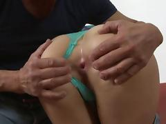 Old man cock fills tight assholes and slippery cunts