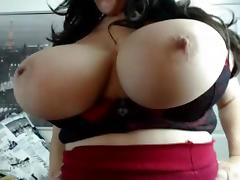 Webcams 2014 - Sexy Italian with MASSIVE TITS 3
