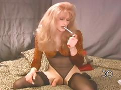 Hot CD-TS Cougar Smoking Compilation