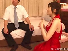 Big breasted babes are the best for sexy body massage fun
