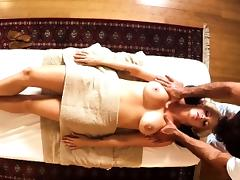 Massage babe muffdiving